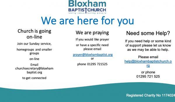 bloxham covid-19