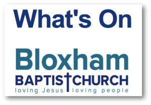 what's on bloxham baptist church