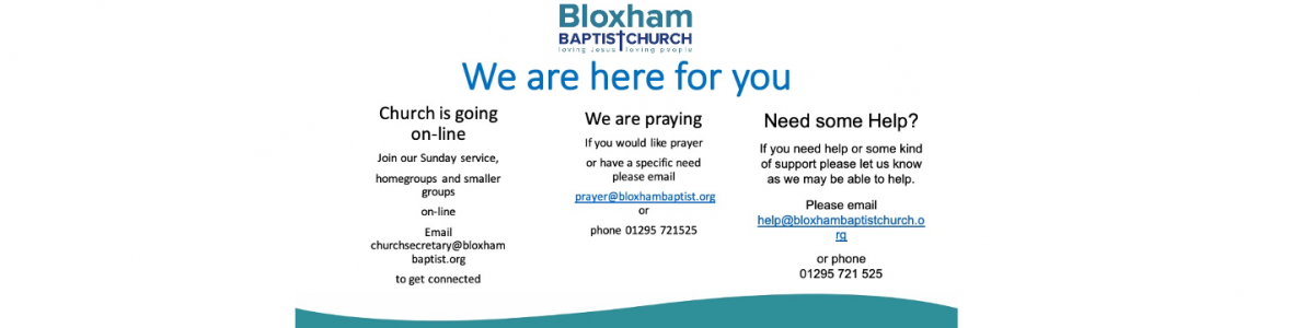 how can we help in bloxham