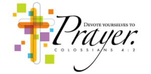 prayer bloxham baptist church